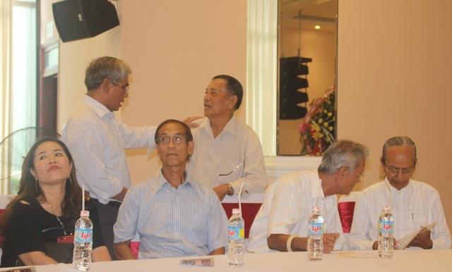 Các võ sư lừng danh một thời hội ngộ trên đất võ Bình Định.