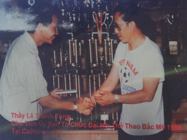 Võ sư Lê Thanh Tùng, Chủ tịch Ủy ban tổ chức đại hội thể thao bắc Mỹ 1989.