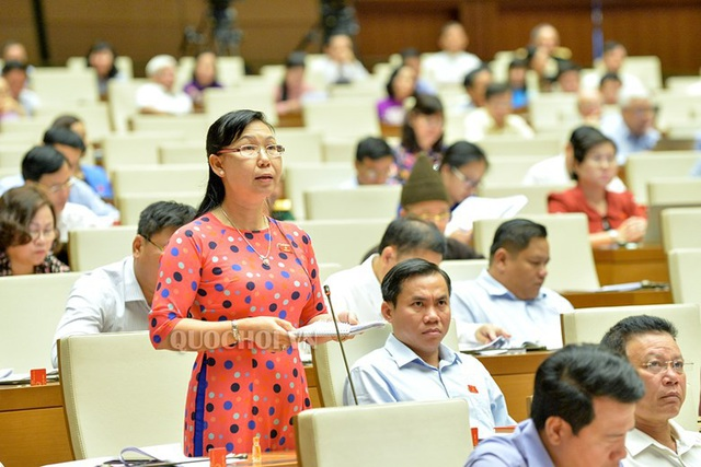 Đại biểu Quốc hội Phan Thị Mỹ Dung