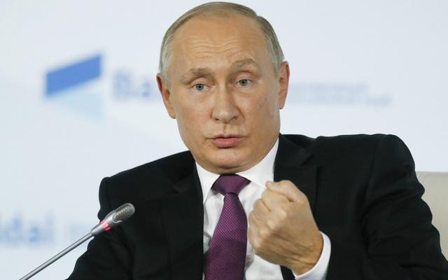 Tổng thống Putin (Ảnh: Sputnik)