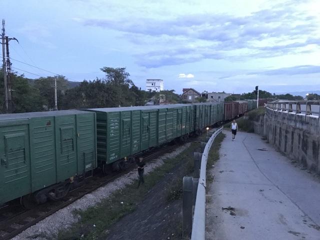 Vụ việc khiến nhiều chuyến tàu bị phải dừng lại.