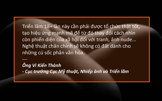Xem thêm: Triển lãm ảnh khoả thân sẽ diễn ra vào cuối tháng 7 tới tại Hà Nội