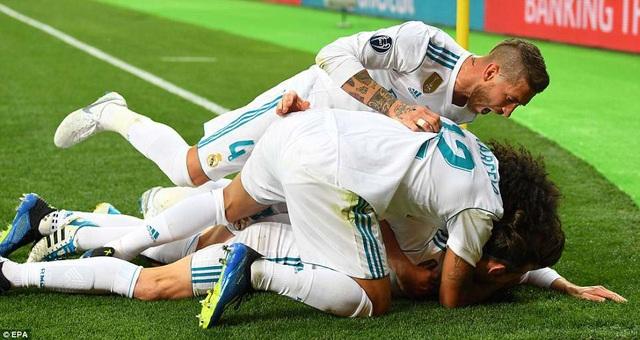 Real Madrid đã lập nên những chiến tích vĩ đại ở Champions League