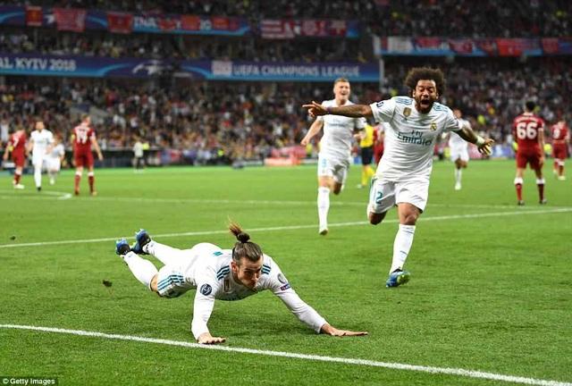 Real Madrid thay đổi cục diện trận đấu từ bàn thắng của Bale
