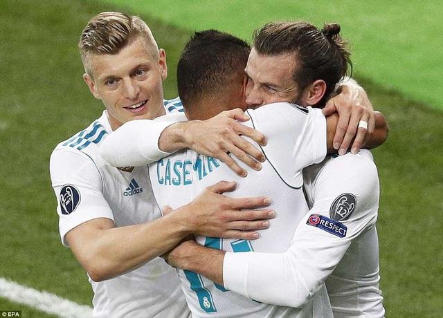 Thắng Liverpool 3-1, Real Madrid vô địch Champions League 2018 đầy thuyết phục