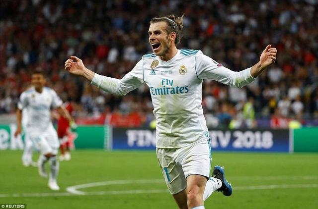 Bale hoàn tất cú đúp sau 30 phút chơi tuyệt với tại Kiev