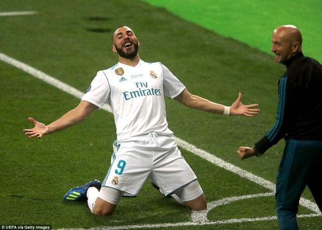 Tiền đạo người Pháp cho thấy cái duyên ghi bàn ở các trận đấu lớn