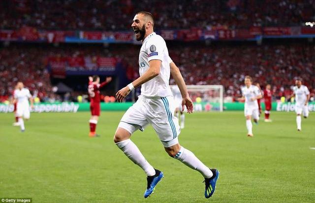 Niềm vui của Benzema