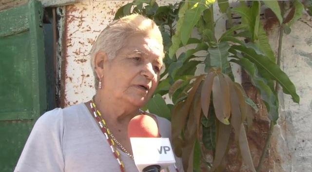 Cụ bà Maria, 70 tuổi xác nhận mình đang mang bầu.