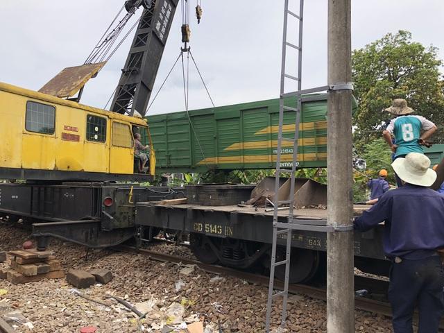 Vụ 2 tàu hỏa tông nhau trong ga Núi Thành là sự việc hi hữu