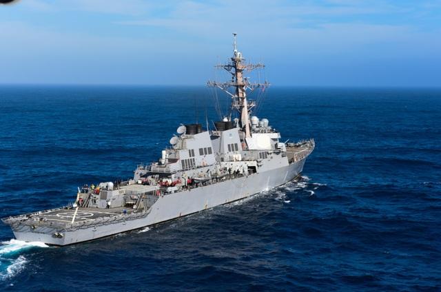 Tàu khu trục USS Higgins (DDG 76) của Hải quân Mỹ (Ảnh: US Navy)