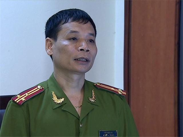 Thượng tá Ngô Minh An.