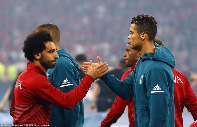 Cuộc đấu giữa Salah và C.Ronaldo được xem là sự cạnh tranh danh hiệu Quả bóng vàng năm nay
