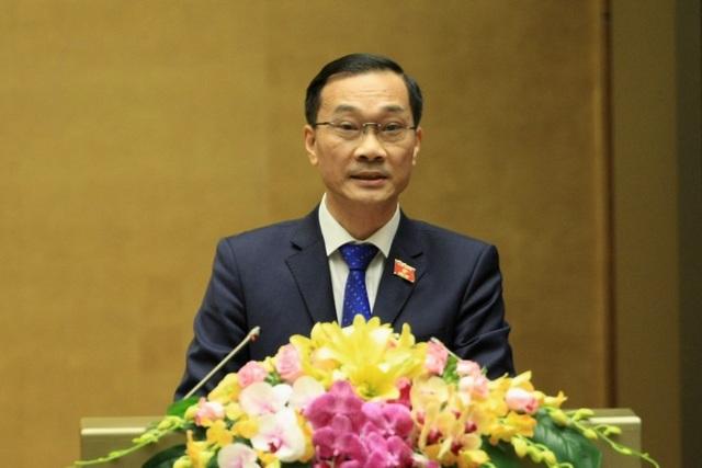 Chủ nhiệm Ủy ban Kinh tế Vũ Hồng Thanh.