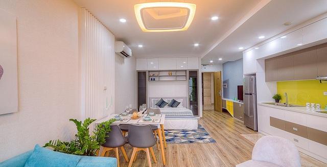 Căn hộ studio 36m2 thu hút các chuyên gia nước ngoài thuê để ở