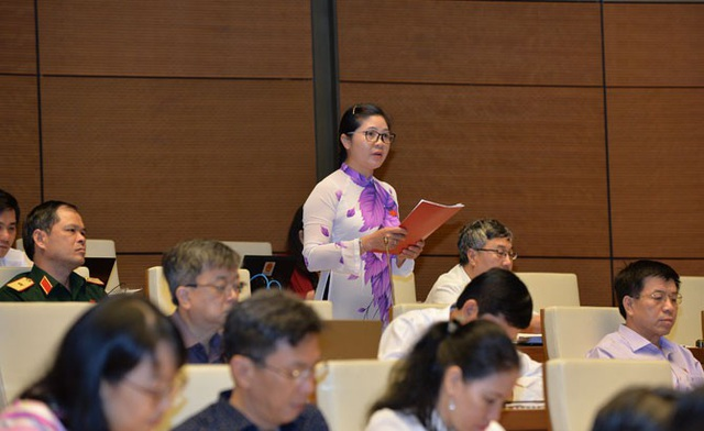 Đại biểu Quốc hội tỉnh Bắc Giang Leo Thị Lịch.
