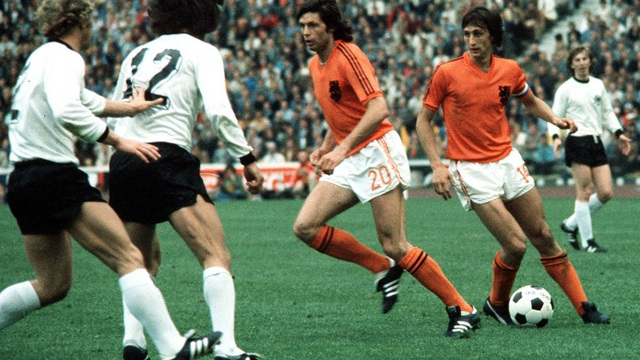Thế hệ vàng của bóng đá Hà Lan với lối chơi tổng lực đã thất bại trong trận chung kết World Cup 1974