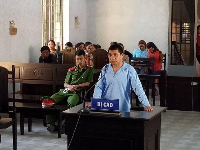 Bị cáo Y Nhi tại phiên tòa