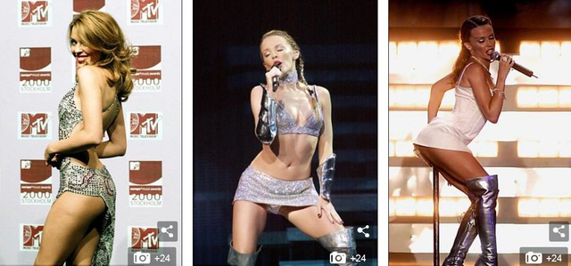 Kylie Minogue có hợp đồng thu âm lớn đầu tiên vào năm 1987 với hãng đĩa Mushroom. Đĩa đơn đầu tiên của cô mang tên The Locomotion có 7 tuần liên tiếp đứng thứ 1 bảng xếp hạng âm nhạc của Úc