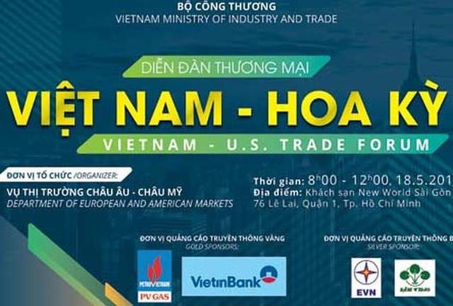 Diễn đàn thương mại Việt Nam – Hoa Kỳ  Kinh tế - 1