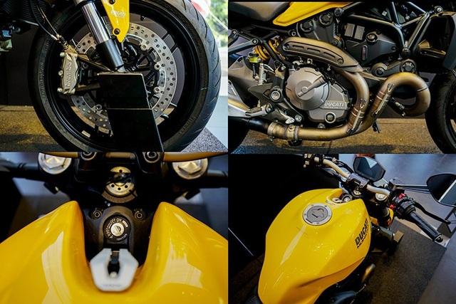 Ducati ra mắt Monster 821 phiên bản nâng cấp - 5