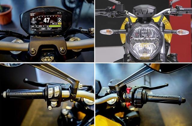 Ducati ra mắt Monster 821 phiên bản nâng cấp - 4
