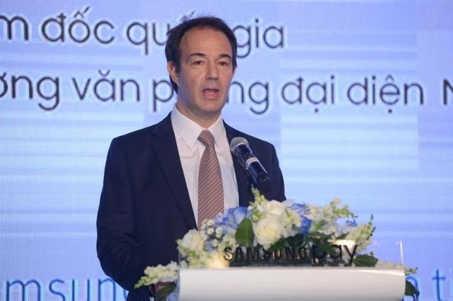 Ông Arn Vogels Giám đốc quốc gia, trưởng văn phòng đại diện Mastercard Đông Dương