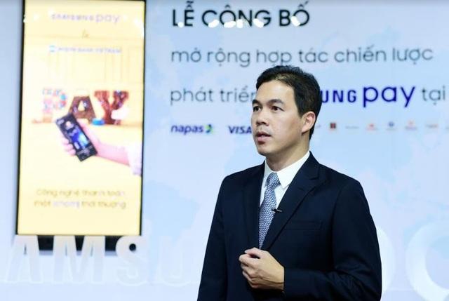 Ông Nguyễn Quang Hiền Huy, Phó Tổng Giám đốc – Giám đốc Điều hành Ngành Thiết bị di động Công ty Điện tử Samsung Vina
