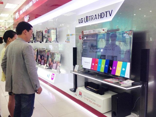Thị trường TV bắt đầu sôi động trở lại.