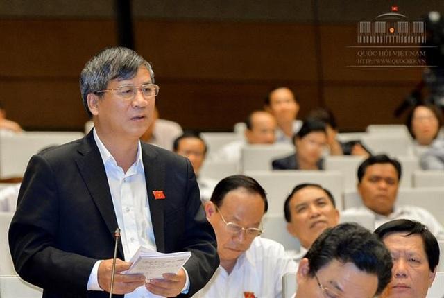 Đại biểu Quốc hội Nguyễn Anh Trí (đoàn Hà Nội).