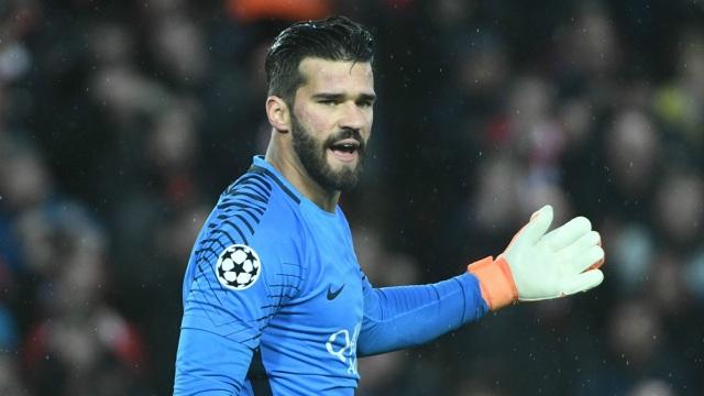Alisson Becker là điểm tựa vững chắc của AS Roma