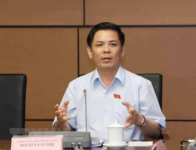 Bộ trưởng Bộ GTVT Nguyễn Văn Thể.