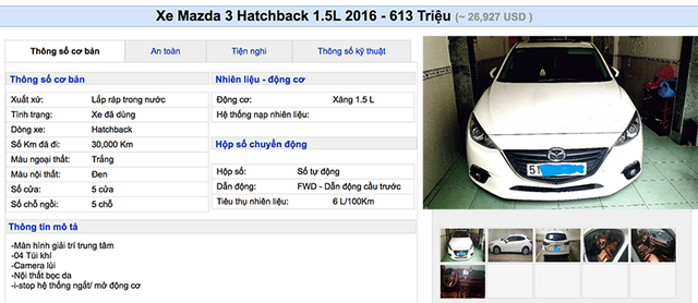 """Lạ thường những chiếc Mazda3 """"cá vàng"""" giá đắt ngang xe mới - 4"""
