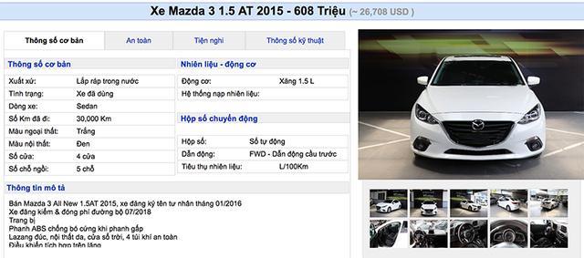 """Lạ thường những chiếc Mazda3 """"cá vàng"""" giá đắt ngang xe mới - 2"""