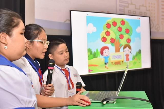 Một số trẻ em tại địa bàn TPHCM nói về các sản phẩm của mình