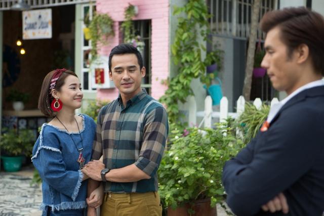 Nhã Phương và câu chuyện tình tay ba đầy hài hước trong phim mới.