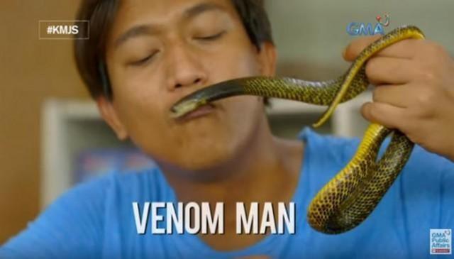 Quililan thú nhận mình vô cùng yêu quý loài rắn