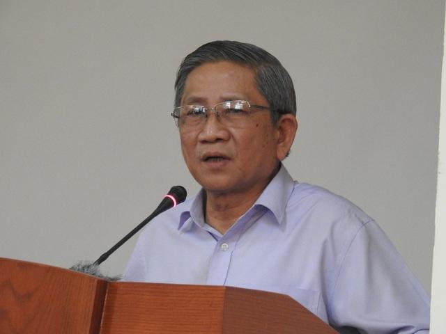 GS Nguyễn Minh Thuyết, Tổng chủ biên Chương trình Giáo dục phổ thông mới.