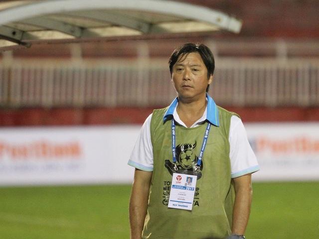 Lê Huỳnh Đức là cái tên đầy hấp dẫn với bất kỳ CLB nào đang cần người tài, đặc biệt là với CLB TPHCM (ảnh: Trọng Vũ)
