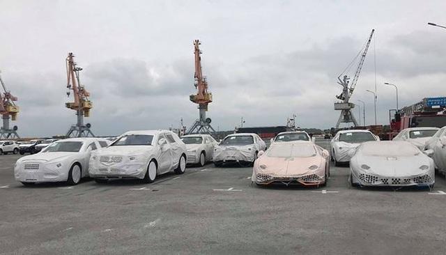 Theo Hải quan Hải Phòng, lô xe Lamborghini, Bentley nằm cảng Hải Phòng nhiều tháng trời vì có thể doanh nghiệp chưa có tiền nộp thuế - Ảnh: Hải Veo