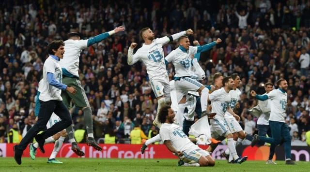 Real Madrid hướng tới chức vô địch Champions League lần thứ 3 liên tiếp