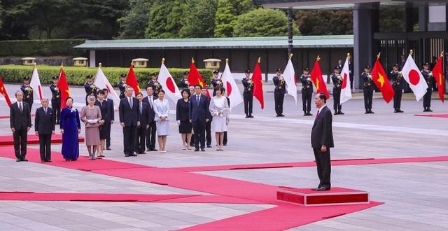 Chủ tịch nước Trần Đại Quang hội kiến Nhà vua và Hoàng hậu Nhật Bản - 2