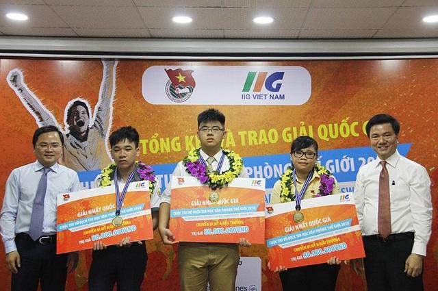 Ba đại sứ Việt Nam sẽ tham gia tranh tài MOSWC 2018 tại Mỹ