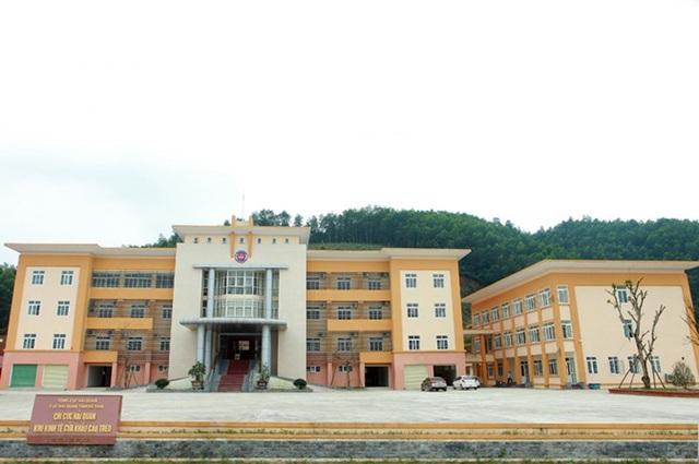 Trụ sở Chi cục Hải quan Cửa khẩu Cầu Treo được xây dựng sau khi đơn vị được thành lập