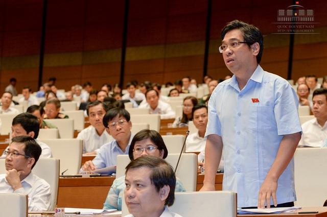 Đại biểu Nguyễn Phước Lộc (Ảnh: QH)