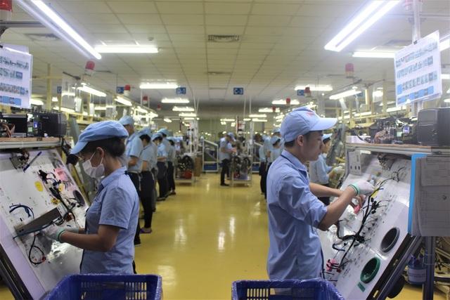 Samsung có khoảng 160.000 lao động trực tiếp và 40.000 lao động gián tiếp tại Việt Nam. (Ảnh: Hồng Vân)