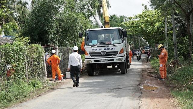 5 đơn vị trực thuộc gồm các Công ty Điện lực Bến Tre, Trà Vinh, Long An, Tiền Giang, Vĩnh Long đã tổ chức diễn tập