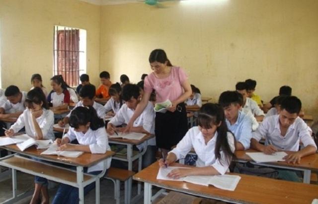 Học sinh Trường THCS xã Hoằng Lương ôn thi tuyển sinh vào lớp 10 THPT
