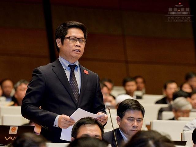Đại biểu Vũ Tiến Lộc (Thái Bình) đồng thời là Chủ tịch Phòng Thương mại và Công nghiệp Việt Nam (VCCI).