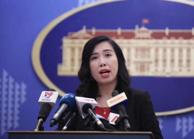 Người phát ngôn Lê Thị Thu Hằng thông tin về việc Nhóm các nước Châu Á - Thái Bình Dương tại Liên Hợp Quốc đã nhất trí đề cử Việt Nam vào vị trí Ủy viên không thường trực Hội đồng Bảo an Liên Hợp Quốc nhiệm kỳ 2020-2021.